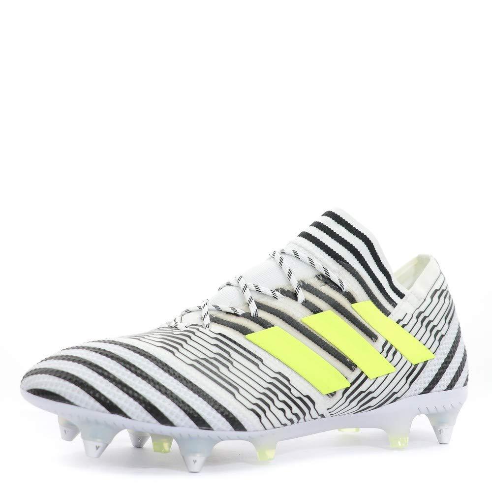 Blanc 43 1 3 EU adidas Nemeziz 17.1 SG Chaussures de Foot
