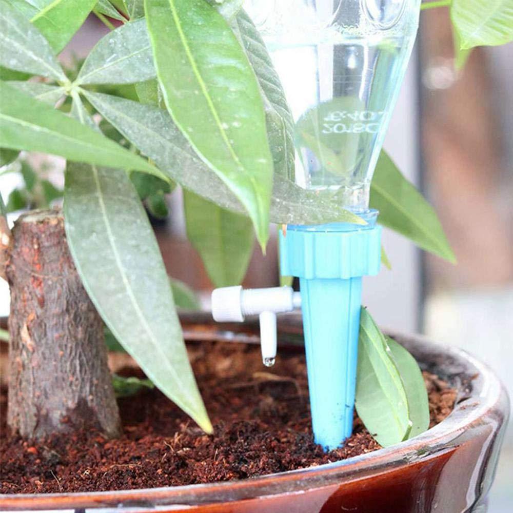 Umiwe - Dispositivos de riego automático para Plantas, Sistema de riego por Goteo con válvula Ajustable para el Cuidado del hogar y la Oficina: Amazon.es: ...