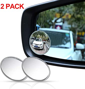 4 Inch Car Truck Blind Spot Rear View Mirror Wide Angle Round Convex