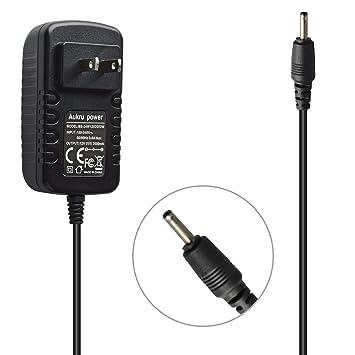 Aukru 12 V 2 A Cargador de Pared Adaptador de CA Cable de ...