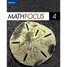 Nelson Math Focus 4: Student Book