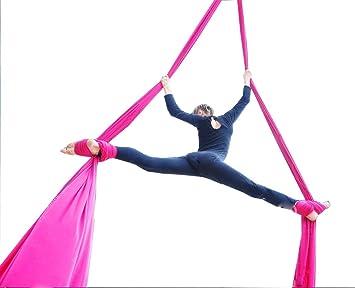 Amazon.com : F.Life Aerial Silks Standard Kit Pilates Yoga ...