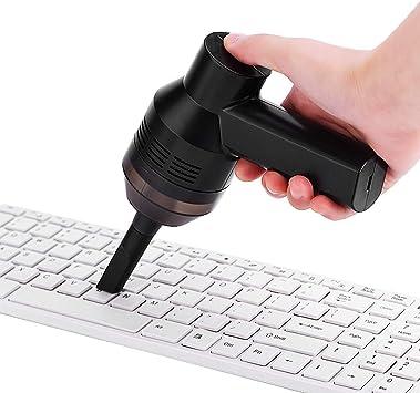 Tangxi Aspirador de Teclado, Aspirador de Mano Recargable de Teclado Aspirador de Coche Limpieza de la Estufa de Cocina para el Polvo Laptop PC de Escritorio Duster de Aire: Amazon.es: Electrónica