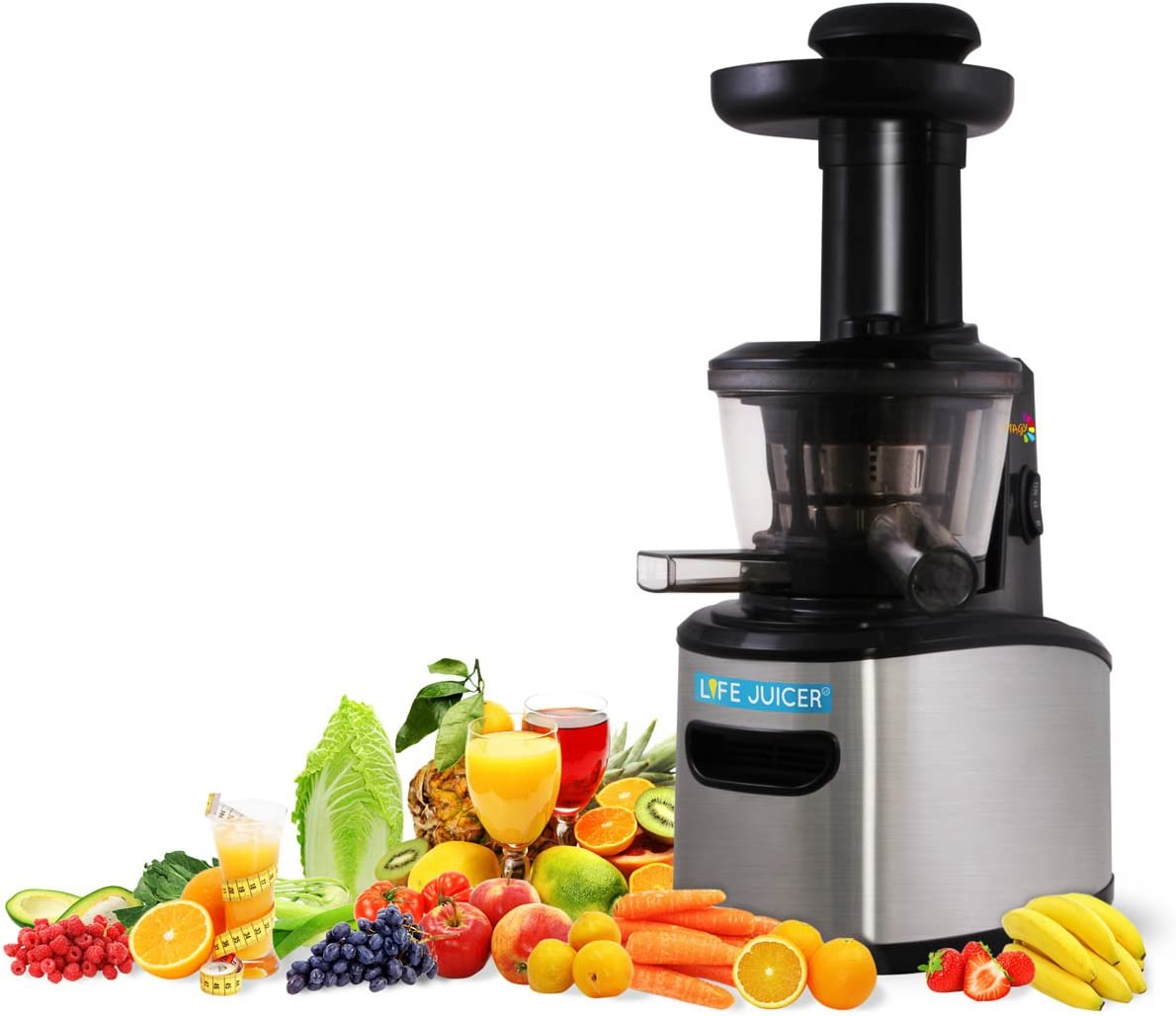 Life Juicer, Extractor de zumos, procesador de frutas, cold press ...