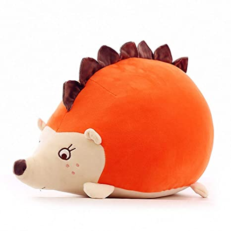 Amazon.com: Kawaii Hedgehog Almohada de peluche suave de ...