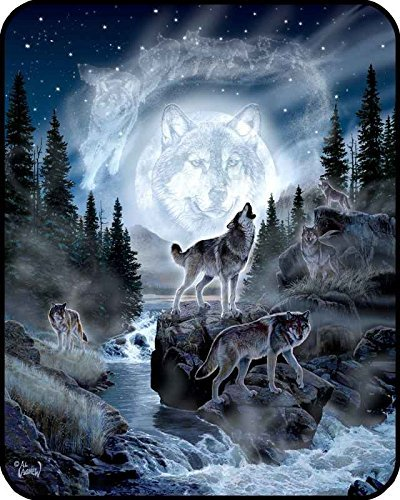 60-x-80-blanket-comfort-warmth-soft-cozy-air-conditioning-easy-care-machine-wash-moon-wolf