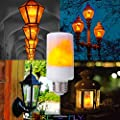 LED Flame Effect Bulb E26 Base Flicker Flame LED 3 Mode for Indoor, Home Decoration,Covered Porch Lights, Landscape Lighting, Specialty Lighting, Christmas Decor, Festivals, Hanukkah by FIREFLY