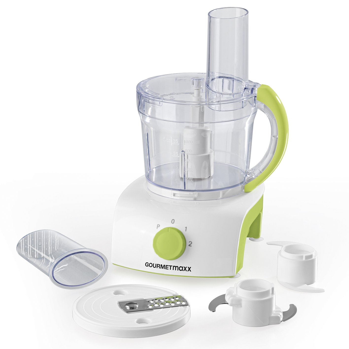 Amazon.de: GOURMETmaxx Multifunktionale Küchenmaschine mit 3 ...