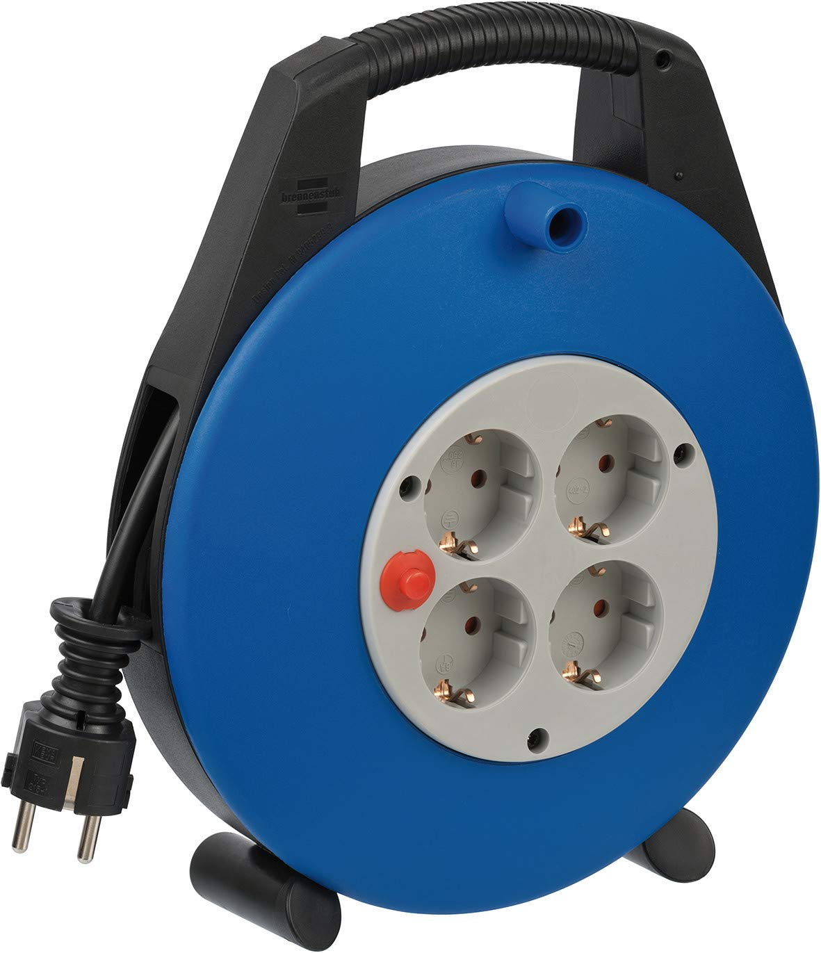 10 m schwarz//blau//lichtgrau Brennenstuhl Kabelbox Vario Line