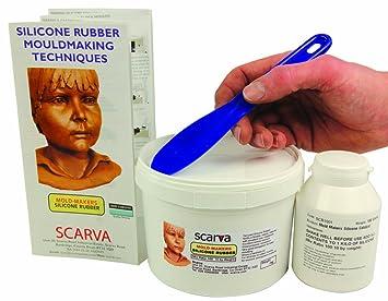 Kit de silicona líquida RTV para moldes (incluye manual de instrucciones, 1,1 kg): Amazon.es: Bricolaje y herramientas