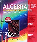 img - for Algebra 1: An Integrated Approach, Teacher's Edition book / textbook / text book