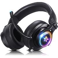 Headset gamer fone de ouvido usb com microfone Adamantiun Heimdall V2 pc ps4 ps5 ps3 notebook com adaptador type c…