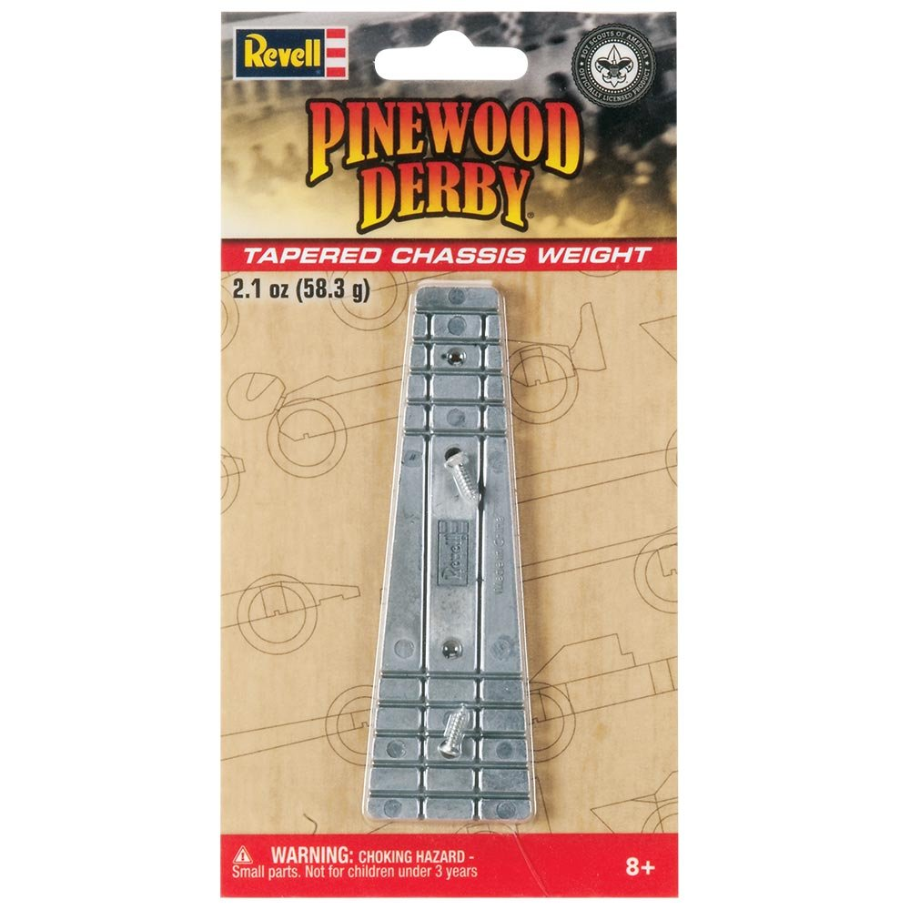 Revell Pinewood Derby Combo Segmented Chassis Weights Pinewood Derby Accessory
