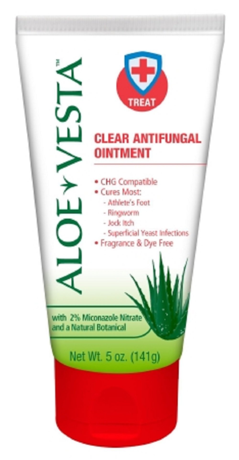 Aloe Vesta - Antifungal - 2% Strength Ointment - 12/Case - 5 oz. Tube - McK
