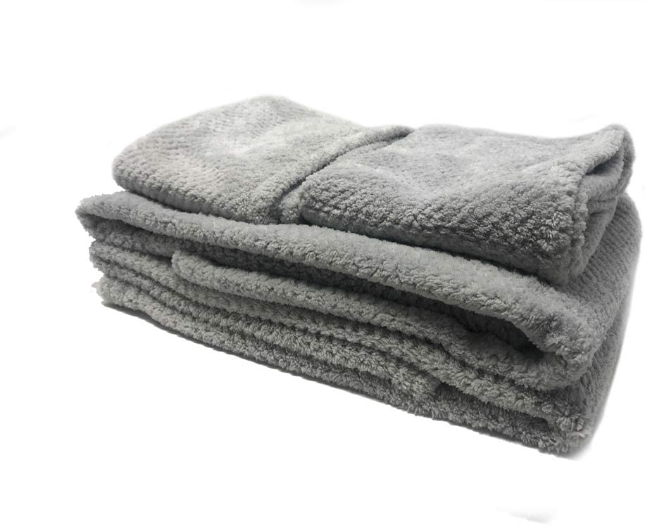 Beige Vetrineinrete/® Set 4 Asciugamani da Bagno Asciugamano per ospite da Viso Mani Lavette Asciugatura Rapida Tessuto Morbido Simil ciniglia M71