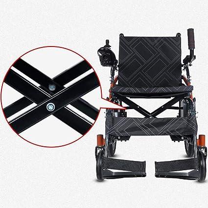 Sillas de ruedas eléctricas Deluxe Plegable Ligero ...