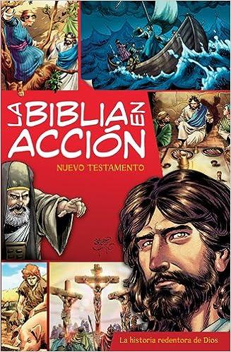 Descargar libros gratis iphone 4 La Biblia en Accion, Nuevo Testamento: La Historia Redentora de Dios RTF