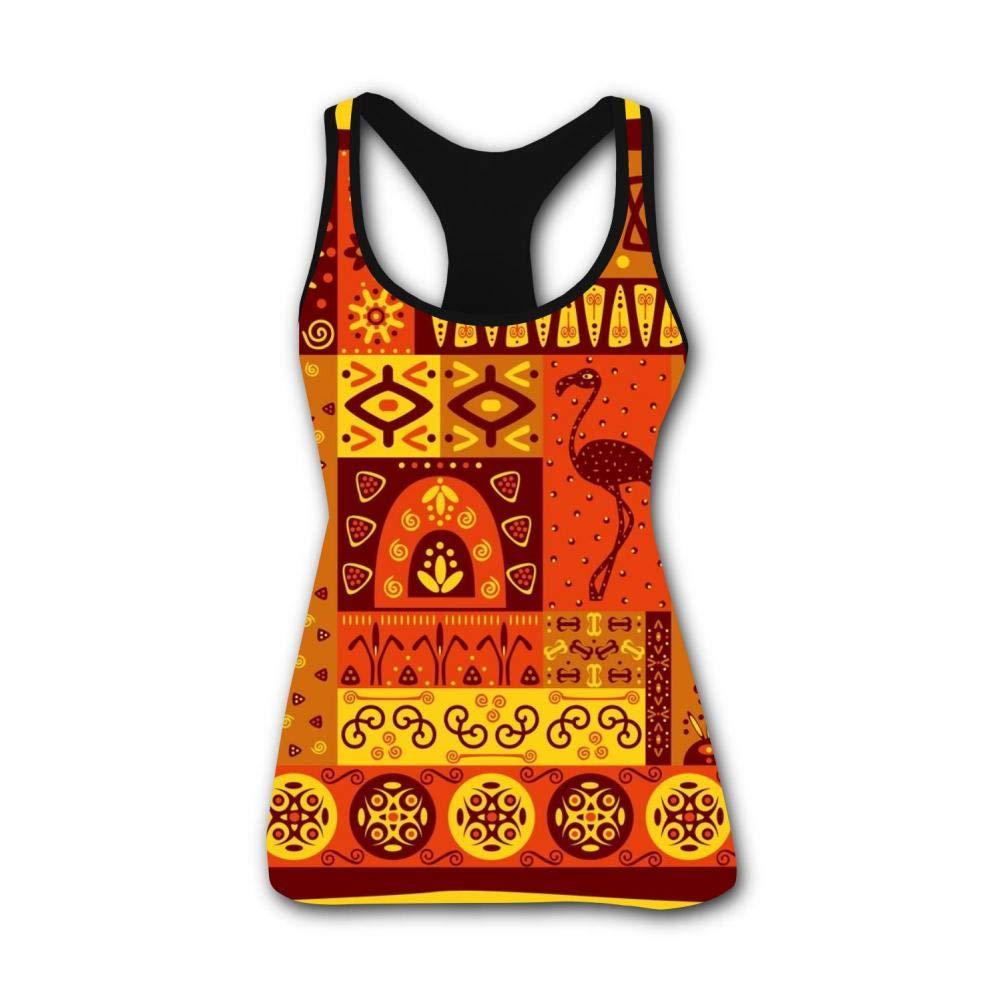 Indian Totem 3D Print Summer Fashion Sleeveless Tanks Vest Shirt Women Girl L