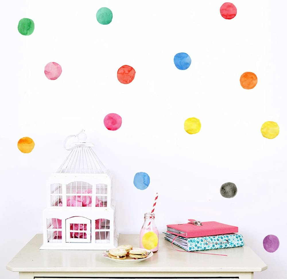 Hacaso 36 PCS 2.5 by 3.7 Inches Cute Animals Wall Decal Sticker for Home Decor DIY Home Decor Vinyl Aimals Nursery Room Wallpaper