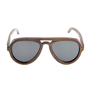 Sonnenbrille Holz Bambus Polarisiert Farbige Gläser Handmade Verspiegelt Strand Sommer Brille Damen Herren PGJJGITlvA