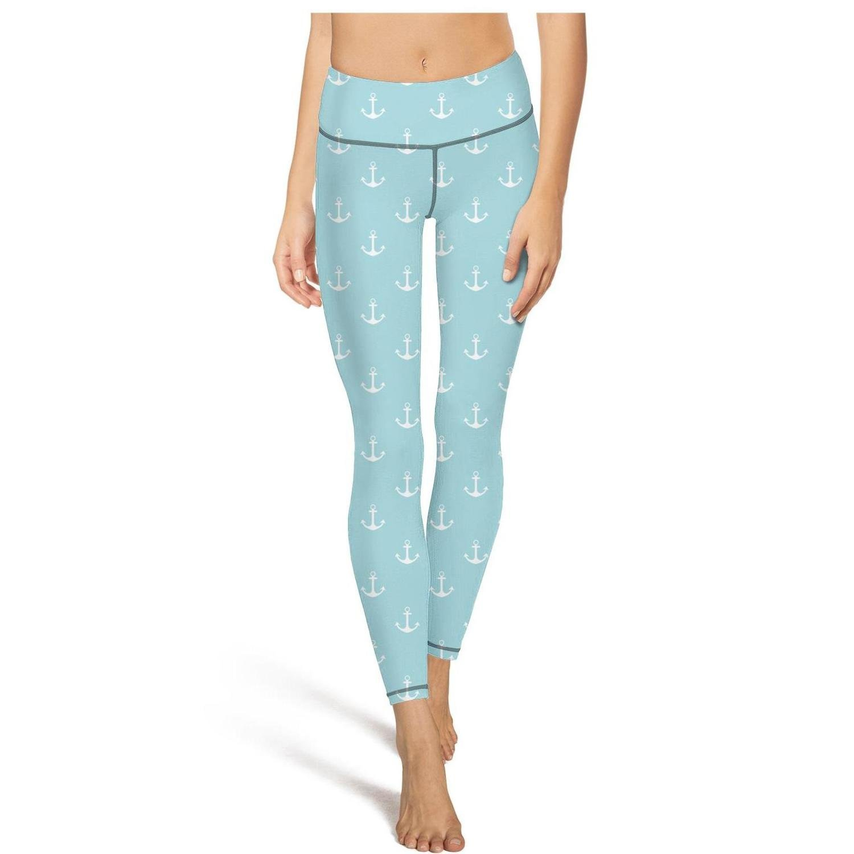 blueee Beach Anchor Medium Shadfyvgf Cute Womens Sport Yoga Pants White Small Big Stars Rainbow Hot Yoga Pants