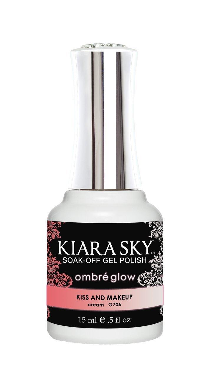 Kiara Sky Gel Polish Ombre Glow - G706 KISS AND MAKEUP by Kiara Sky