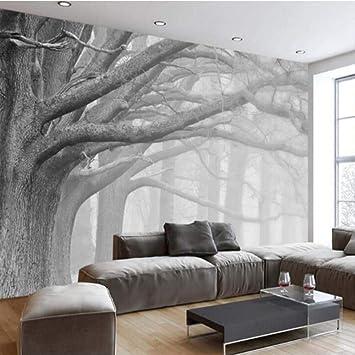 BIZHIGE 3D Toile Papier Peint Salon Chambre Murale Moderne ...