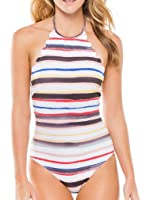 Blooming Jelly Frauen-Jakobsmuschel One Piece Badeanzug Badeanzug Monokini Badeanzug