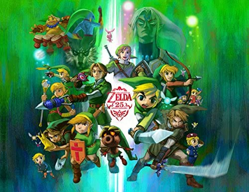 Legend of Zelda Image Photo Cake Topper Sheet Birthday Party ...
