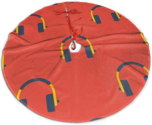 Headphones Christmas 2020 Amazon.com: Christmas Tree Skirt, Headphones Rustic Or Stylish