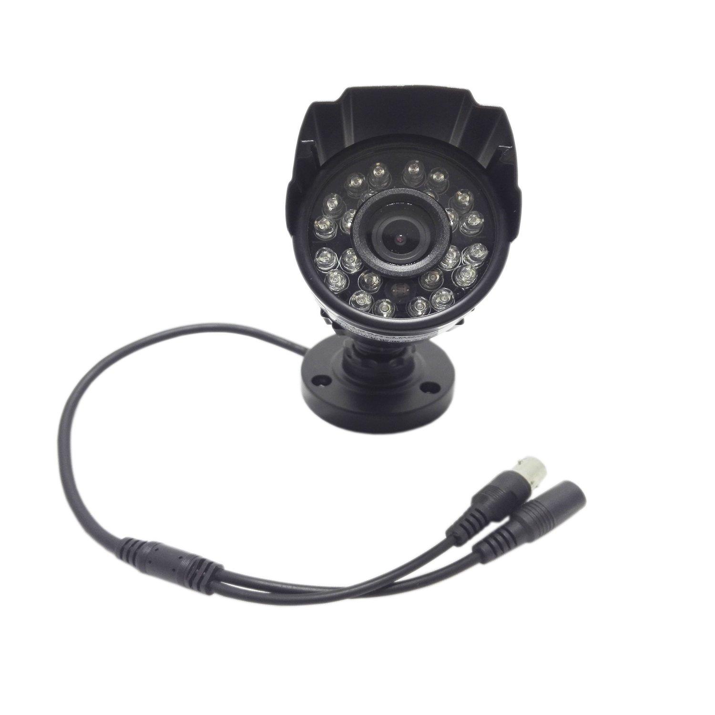 hosecurity C5002 600TVL bullet camera for analog system DVR use (600TVL, Black)