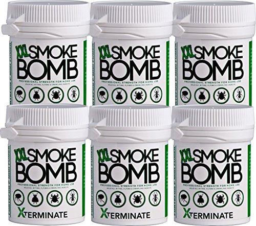 Xterminate XXL 16g Smoke Bomb Fogger Fumer Killer For Fleas, Bed bug,...
