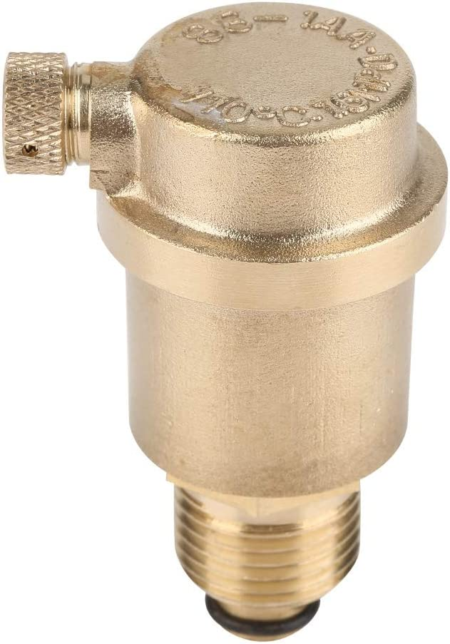 DN15 Vent Valve G1//2 Brass Automatic Air Vent Valve for Solar Water Heater Pressure Relief Nikou Air Vent Valve