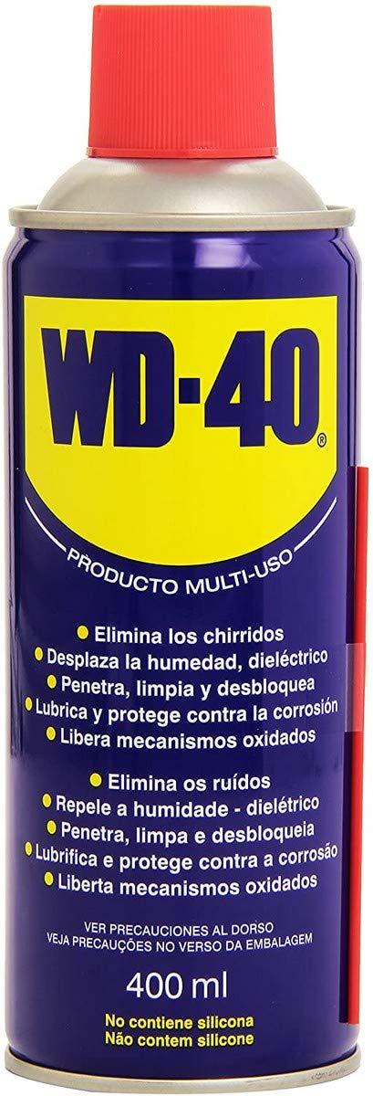 WD-40 34204 Lubricante multiusos, transparente, 400ml