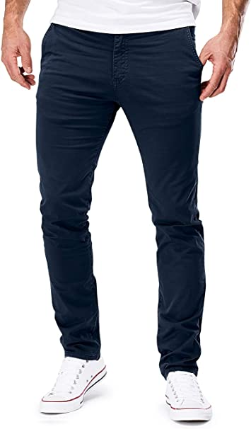 MERISH Chino Herren Slim fit Chinohose Stretch Designer Hose
