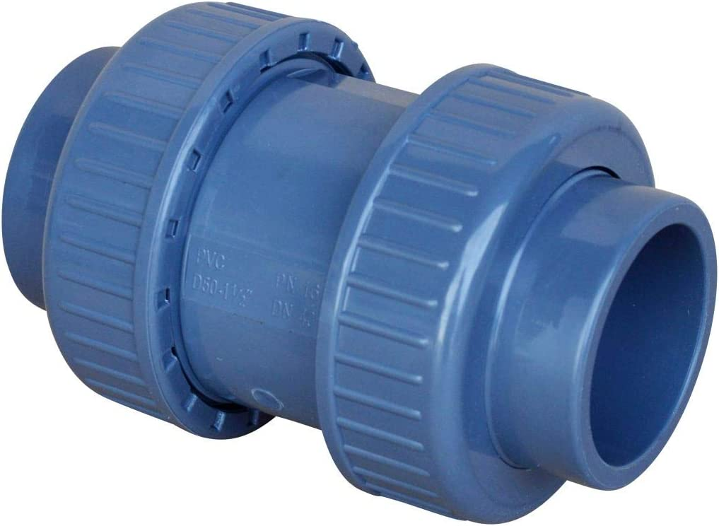 grau altone PD-01510 50mm PVC R/ückschlagklappe