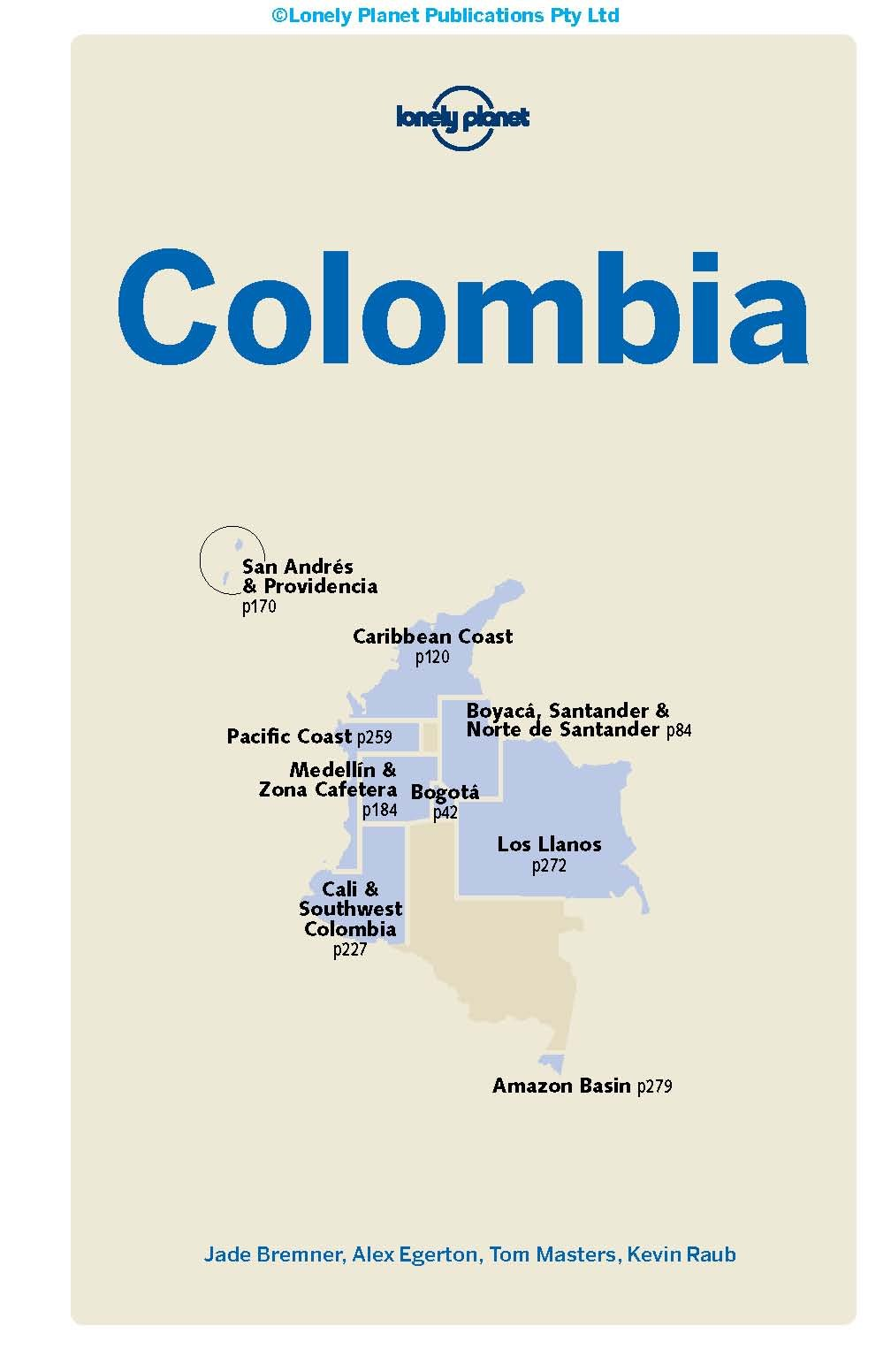 Lonely Planet Colombia (Travel Guide): Lonely Planet, Alex ...