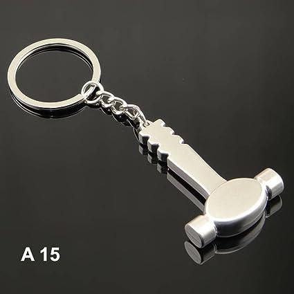 Amazon Com 1 Pc Mini Pocket Hammer Keychain Keyring Keyfob Tools