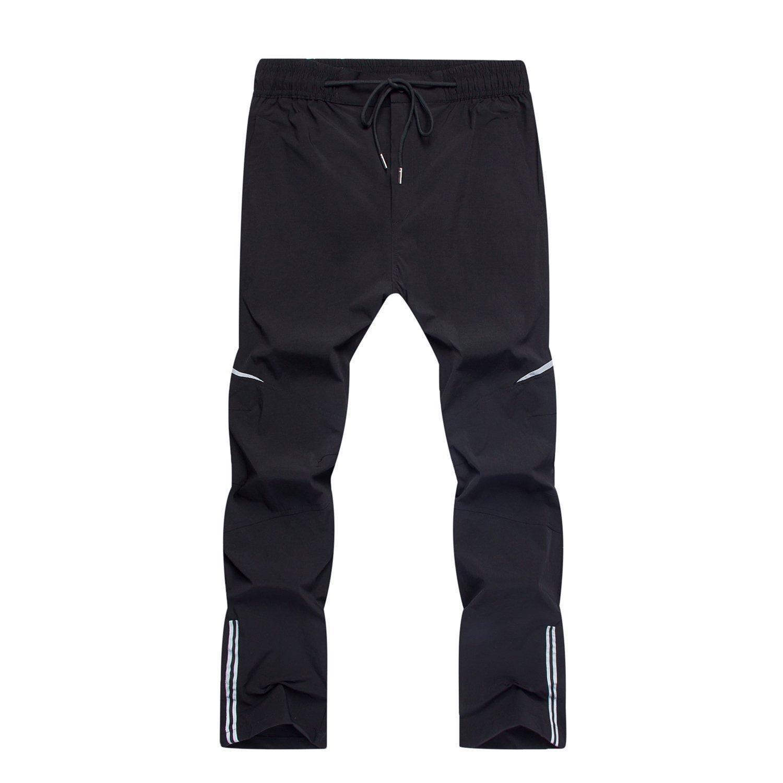 SUKUTU Pantalon de Cyclisme /à s/échage Rapide pour Hommes Pantalon de randonn/ée imperm/éable /à leau pour Sports de Plein air