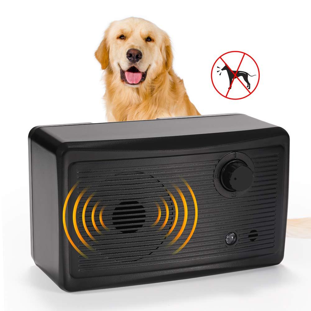 VOLADOR Outdoor Bark Control Device, Ultrasonic Anti Dog Barking Deterrent Waterproof Dog Training Tool by VOLADOR