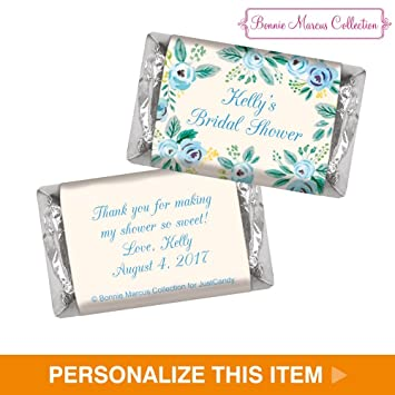 bonnie marcus heres something blue hershey minis bridal shower favors 50 count free