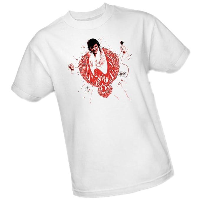 de0bf9548 Amazon.com: Red Phoenix -- Elvis Presley Youth T-Shirt: Clothing