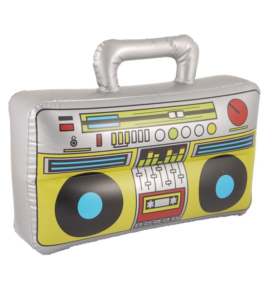 Islander Fashions Inflatable Boom Box 37X28cm Party Fancy Stag Do Blow Up Music Player Accessory One Size Pack of 1