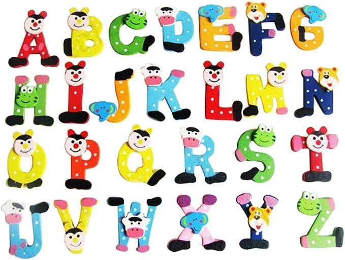 Achicoo Lot de 78 aimants de r/éfrig/érateur avec lettres et chiffres pour enfants