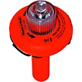 SOS DISTRESS LED Electronic Flare Light, The Only Alternative To Traditional Flares (Safety Orange) #C-1001