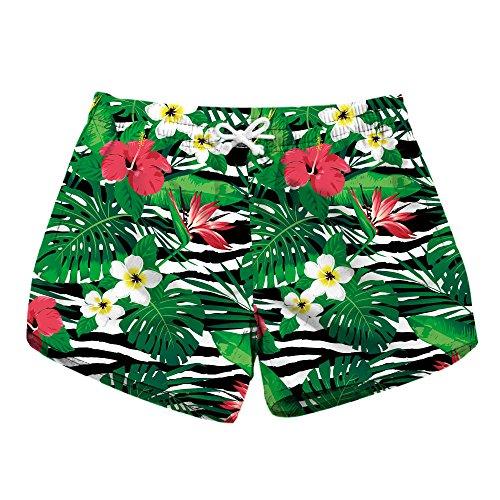 CXQ QIN Photo Dry in informale Pantaloncini Donna Shorts spiaggia amp;X Quick 3D STAMPATA gCFAxg