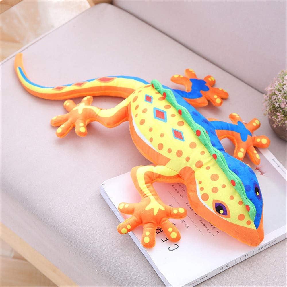 SXPC Simulación Gecko Lagarto de la muñeca de la muñeca del niño de Juguete de Felpa muñeca Parodia Almohada