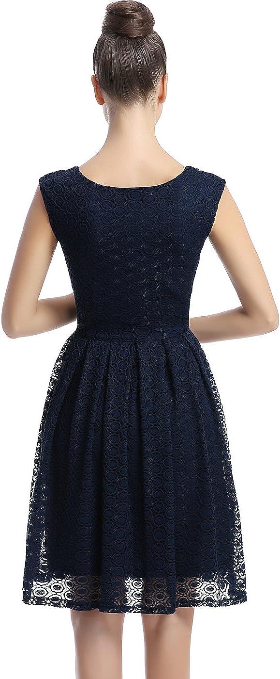 phistic Womens Lace Skater Dress Regular /& Plus Size