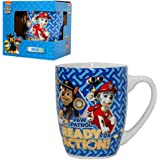 Selection Ceramic Cup Kissen Motiv:Chase /& Marshall STOR S.L Paw Patrol Children Mug in Gift Box 200 ml