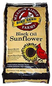 Meadow Ridge Farms Black Oil Sunflower Mix - 20 lbs
